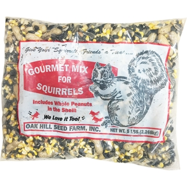 Oak Hill Seed Gourmet Mix for Squirrels 5lb