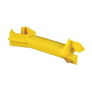 "Blitzer Insulator T-Post 5"" Extension Yellow IT5XY-RS"