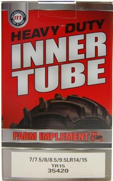 ITT 8.5L/9.5L-14/15 Lawn & Garden Industrial Tire Tube