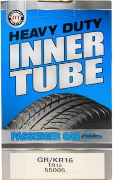 ITT GR/KR16 Passenger Car Tire Tube