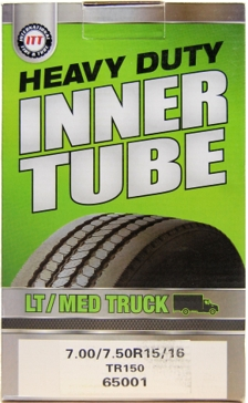 ITT 700/750R15/16 TR150 Light/Medium Truck Tire Tube