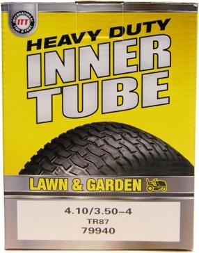 ITT 410/350-4 Lawn & Garden Industrial Tire Tube