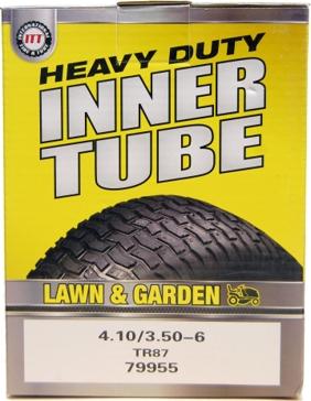 ITT 400/410/350-6 TR87 Lawn & Garden Industrial Tire Tube