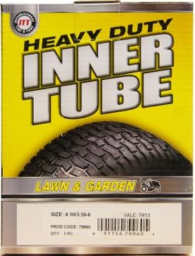 ITT 400/410/350-6 TR13 Lawn & Garden Industrial Tire Tube