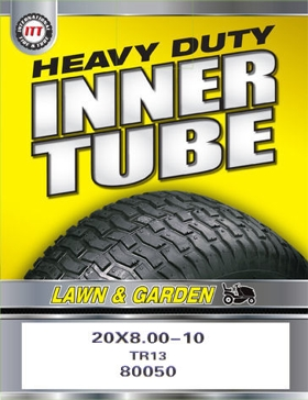ITT 20.5x8-10 Lawn & Garden Industrial Tire Tube