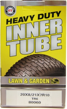 ITT 20x8/21x7-10 Lawn & Garden Industrial Tire Tube