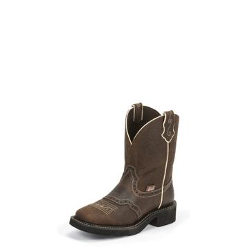 Justin Women's Mandra Brown Boots