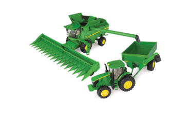 John Deere Corn Harvest Set 1:32