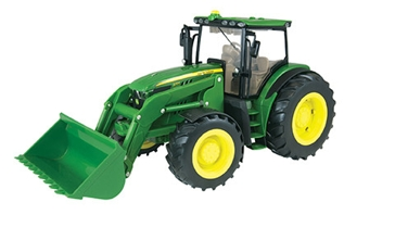 Ertl 1:16 Lights & Sounds Big Farm 6210R Tractor Loader