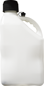 5 Gallon Plastic U-Jug with Flexible Hose Opaque