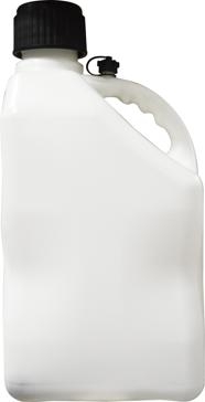 5 Gallon Plastic U-Jug with Flexible Hose Opaque