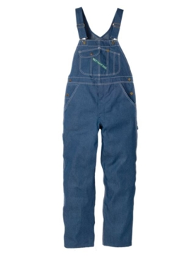 Key High-Back Bib Overall with Zip Fly Style 273