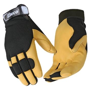KincoPro Unlined Grain Deerskin Gloves