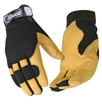 KincoPro Unlined Grain Deerskin Gloves