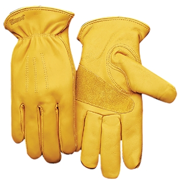 Kinco Unlined Premium Grain Cowhide Leather Driver Gloves