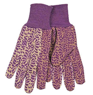 Kinco Women's Jersey Gloves with PVC Grip Dots