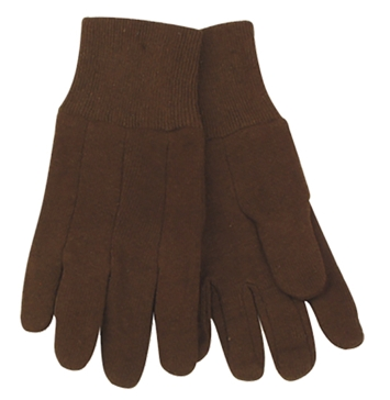Kinco Youth Brown Jersey Gloves