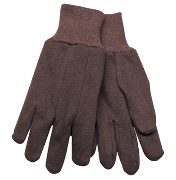 Kinco Brown Jersey Gloves