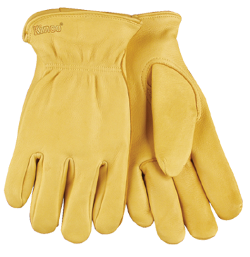 Kinco Unlined Deerskin Leather Driver Gloves
