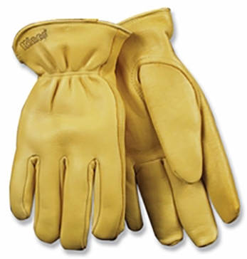 Kinco Cold Weather Lined Grain Deerskin Glove