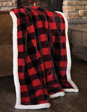 Carstens Lumberjack Plaid Throw