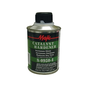Majic Catalyst Hardener 8-0950-4 Half-Pint