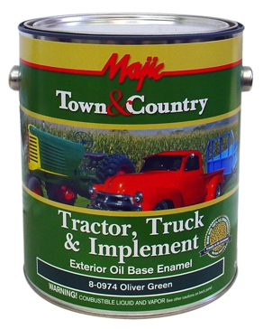 Majic Town & Country Tractor Truck & Implement Enamel Paint