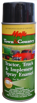 Majic Town & Country Tractor Truck & Implement Spray Enamel Paint