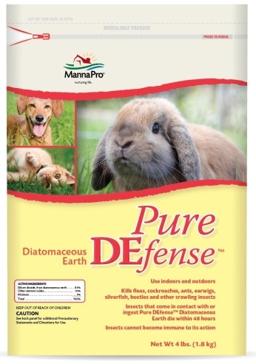 Manna Pro Pure DEfense Diatomaceous Earth 4lb