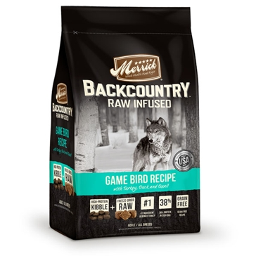 Merrick Backcountry Raw Infused Game Bird Recipe Dry Dog Food