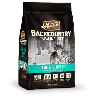 Merrick Backcountry Raw Infused Game Bird Recipe Dry Dog Food