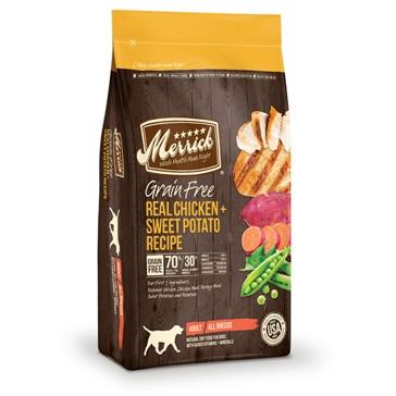Merrick Grain Free Real Chicken & Sweet Potato Recipe Dry Dog Food