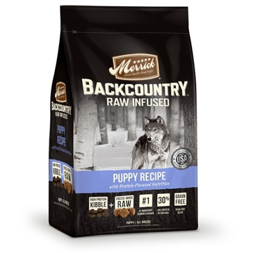 Merrick Backcountry Raw Infused Puppy Recipe Dry Dog Food