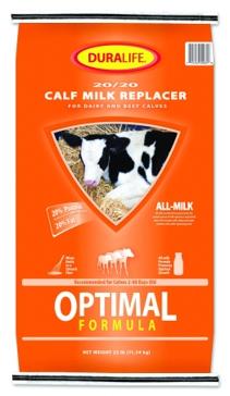 Duralife Calf Milk Replacer 25lb 25843