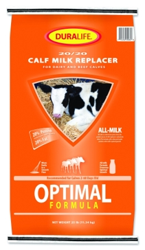 Duralife Calf Milk Replacer 25lb 25843