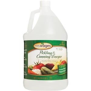 Mrs. Wages 5% Pickling and Canning Vinegar 1 Gallon