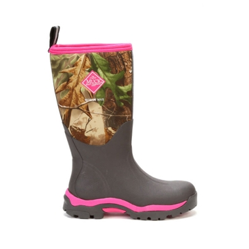 Muck Womens Woody PK Camo Hunting Boot WWPK-RAPG