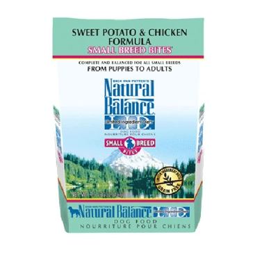 Natural Balance Limited Ingredient Diets Sweet Potato & Chicken Small Breed Bites Dry Dog Food