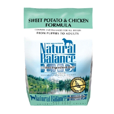 Natural Balance Limited Ingredient Diets Sweet Potato & Chicken Formula Dry Dog Food