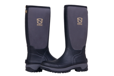 Noble Outfitters Men's MUDS High Black Rubber/Neoprene Boot 65040