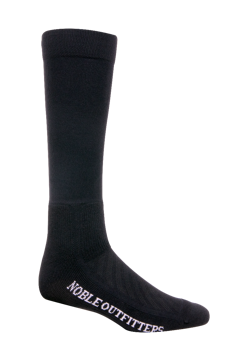 Noble Outfitters Ultrathin Performance Boot Sock-Black