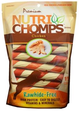 Nutri Chomps Chicken Twist 15 Ct.
