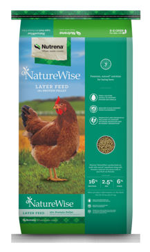 NatureWise Layer 16% Pellet Feed 50lbs.