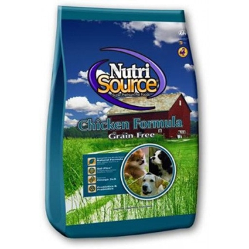 NutriSource Grain Free Chicken Formula Dry Dog Food