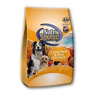 NutriSource Lamb Meal & Rice Formula Dry Dog Food