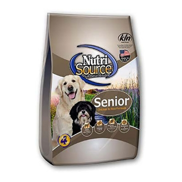 NutriSource Senior Dog Chicken and Rice Formula Dry Dog Food