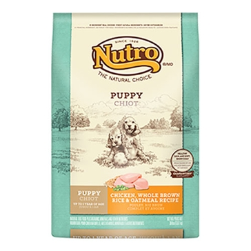 Nutro Original Puppy Food - Chicken, Whole Brown Rice & Oatmeal Recipe