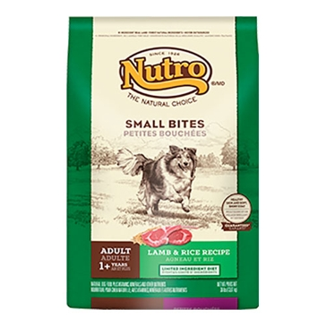 Nutro Small Bites Adult Dry Dog Food - Lamb & Rice Recipe