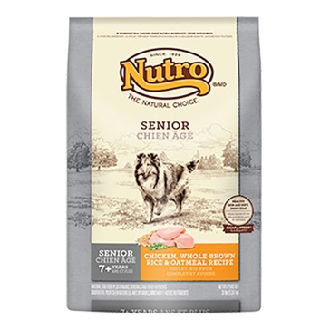Nutro Original Senior Dry Dog Food - Chicken, Whole Brown Rice & Oatmeal Recipe