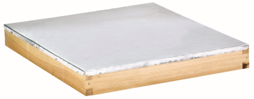 Little Giant Beehive Outer Cover Wood-Aluminum